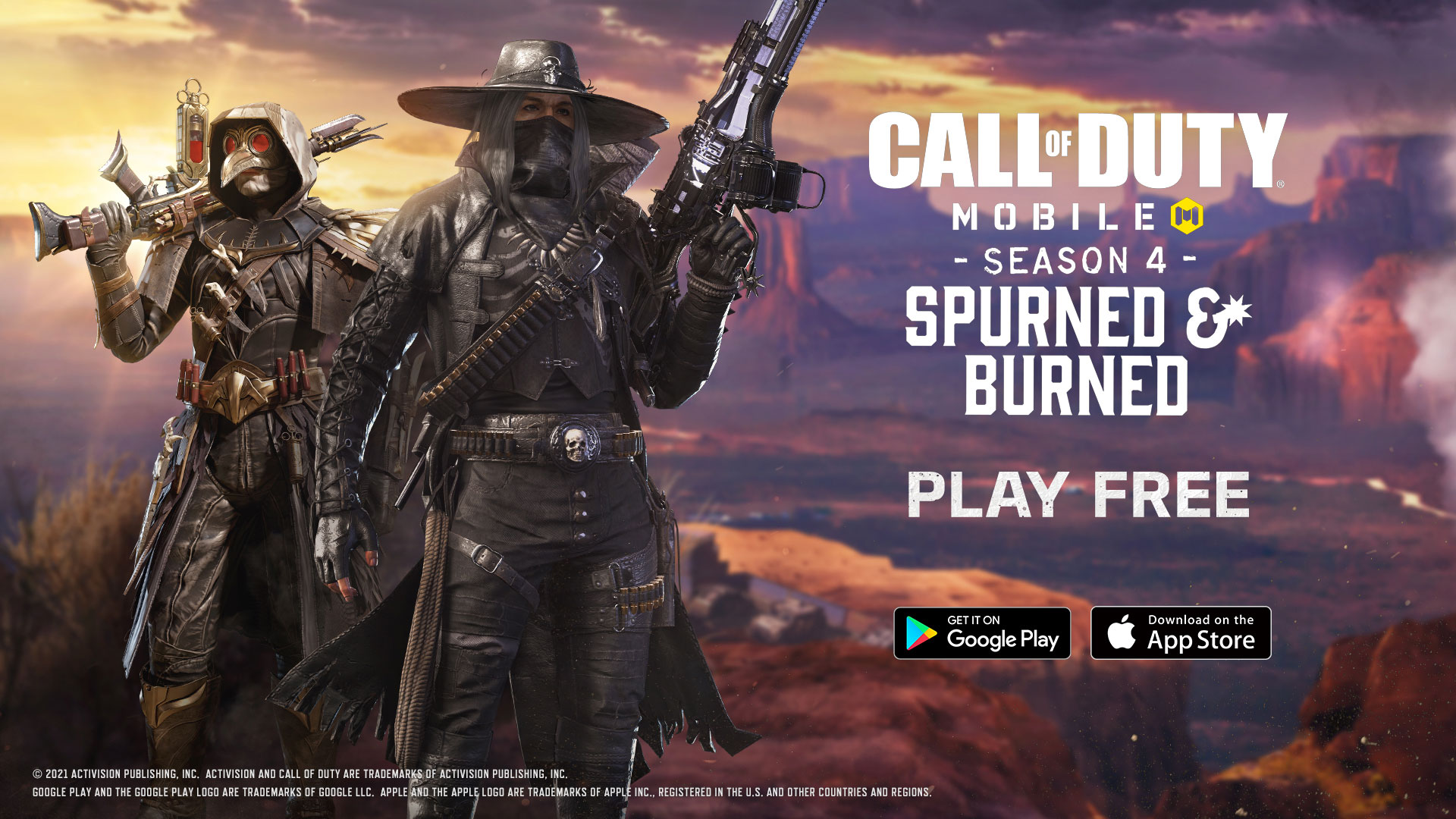 """CALL OF DUTY MOBILE: SEASON 4 – """"SPURNED and BURNED"""" is LIVE NOW!"""